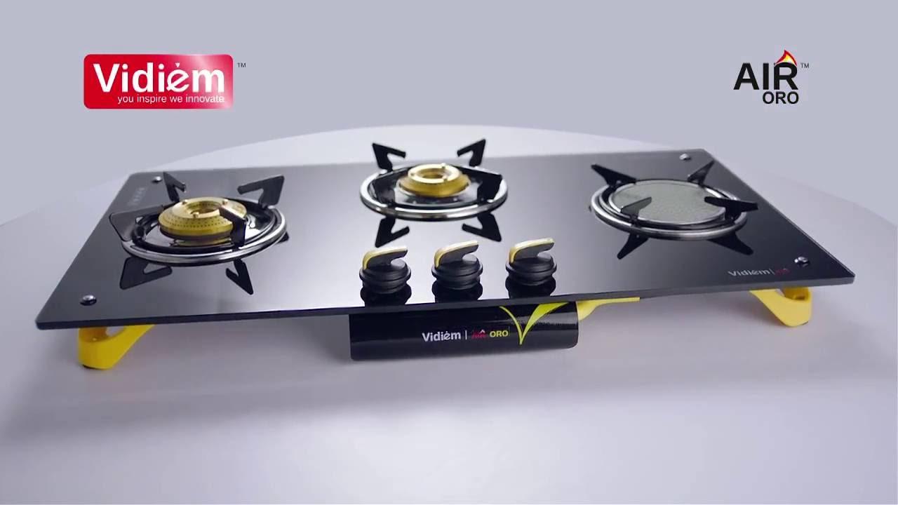 Vidiem Air ORO Gas Stove With Active Ceramic Burner   TVC Telugu