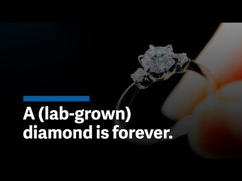 Would you propose with a diamond grown in a lab?