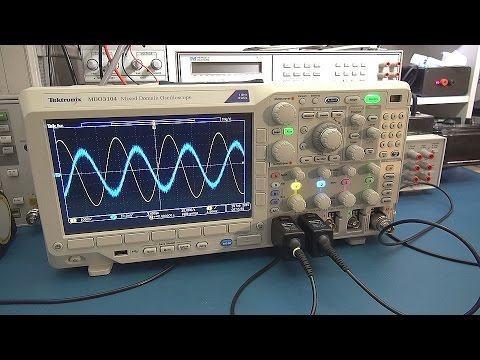 Measuring the Speed of Sound with an Oscilloscope...and Hear