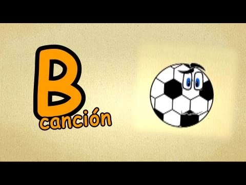El abecedario espa ol para ni os la letra b cancion for La b b