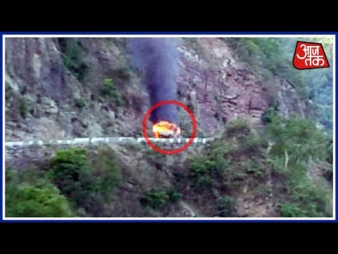 Multiple Gas Cylinder Explosions On Rishikesh-Badrinath Highway