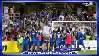فرحة جماهير الزعيم مع لاعبين الهلال بعد نهاية المباراة - الهلال والعين - اياب نصف النهائي