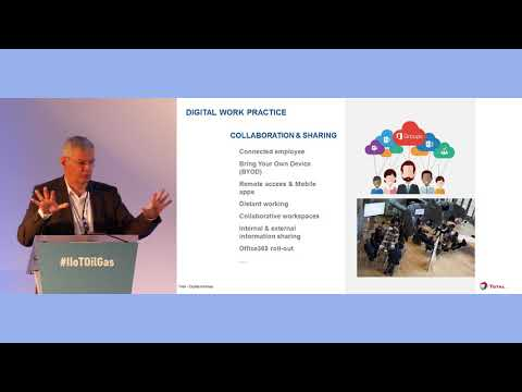 Digital Transformation At Oil Company TOTAL