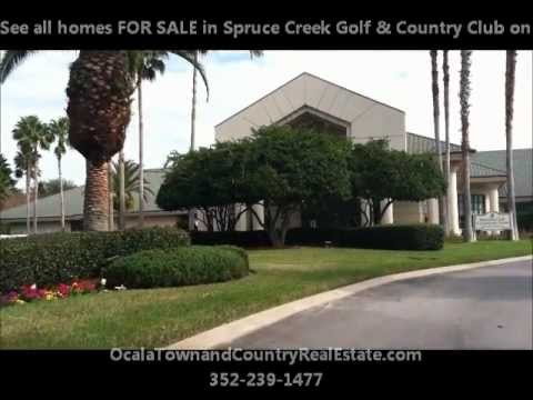 Active Adult 55+ Retirement Homes For Sale Spruce Creek Golf and Country Club
