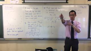 Introduction to Locus (2 of 3: Perpendicular Bisectors)