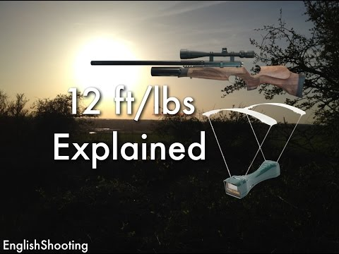 Air Rifle Restrictions - 12 ft/lbs Explained