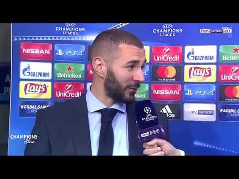 Interview Benzema - Je suis un grand joueur dans le meilleur club du monde