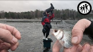 Первый лед Как не намочить сапожки Супер рыбалка