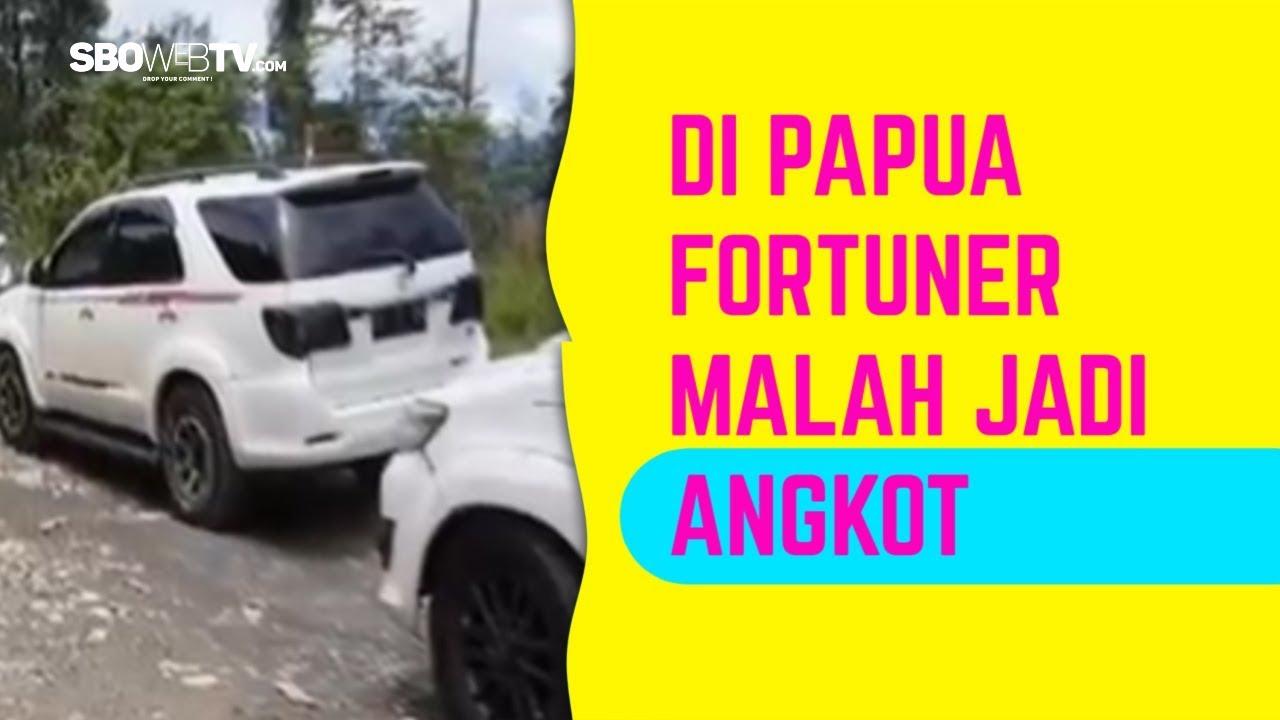 Fortuner di Papua Jadi Angkot