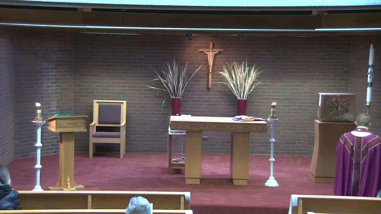 8:00 AM Mass, Monday, March 1, 2021