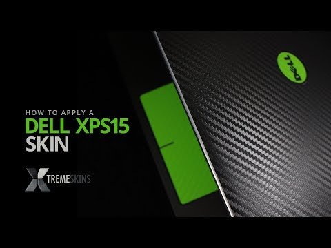How to apply a Dell XPS 15 skin | XtremeSkins