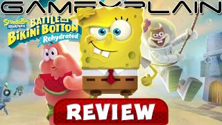 SpongeBob SquarePants: Battle for Bikini Bottom Rehydrated - REVIEW (Nintendo Switch) (Video Game Video Review)