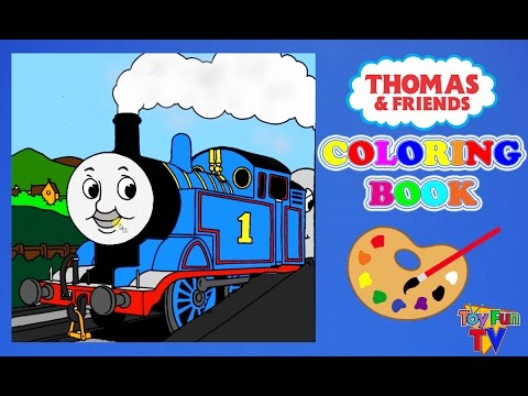 Thomas and friends Coloring Book Thomas The Tank Engine Colour ...