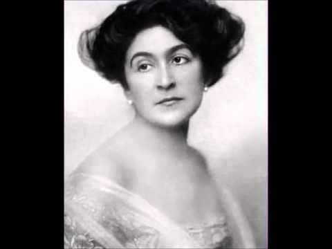 """Selma Kurz 1925 electrical recording """"Lockruf"""" Die Königin von Saba (Goldmark)"""