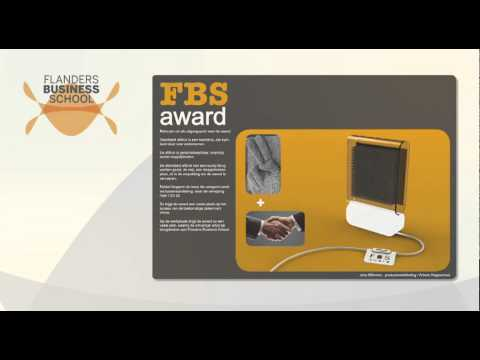 Presentatie ontwerpwedstrijd Flanders Business School door Artesis Hogeschool Antwerpen