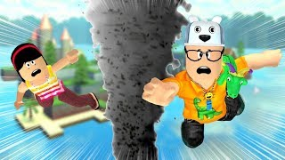 ROBLOX: MY MOTHER AND I IN: THE LAST ONE TO LEAVE THE MYSTERIOUS ISLAND WINS! -Play Old man