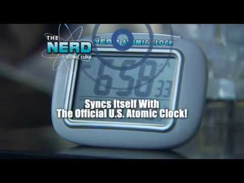 Official Nerd Atomic Clock Commercial- As Seen On TV