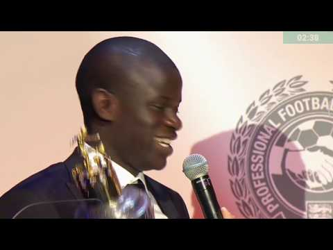 N'Golo Kante Win PFA Player Of The Year Awards 2017