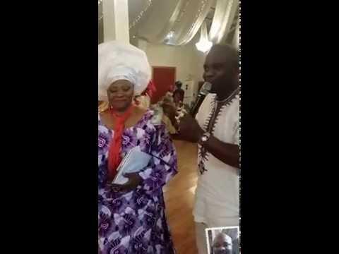 Dele Thomas Live @ Kehinde Abiodun's 50th birthday in Washington D.C