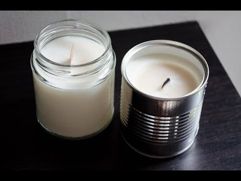 DIY Scented Candles | Natural, Organic, Eco-Friendly, Sustainable