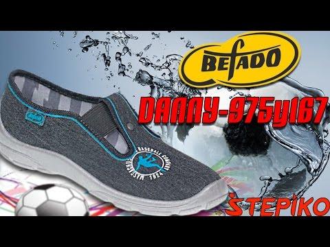 Детские текстильные мокасины Befado DANNY 975Y167. Видео обзор от STEPIKO.COM