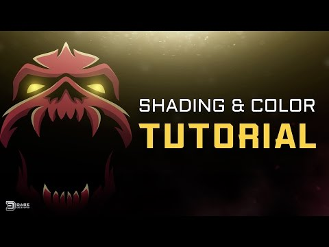 Adobe Illustrator Tutorial   Add Color and Shading to Illustrations!