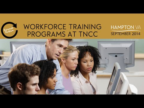 Workforce training programs at Thomas Nelson Community College