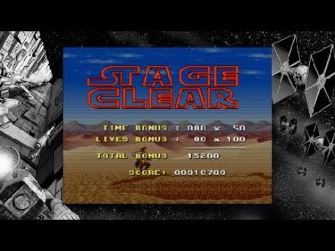 Super Star Wars_remember the 1st  level  on super star wars  classic |