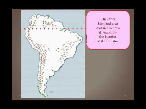 Geographic Regions of South america