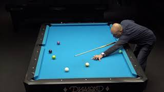 9-BALL INSTRUCTIONAL COMMENTARY DURING PRACTICE HIGHLIGHTS