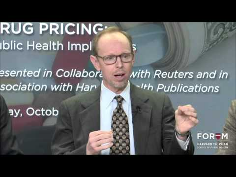 Drug Pricing: Public Health Implications   The Forum at HSPH