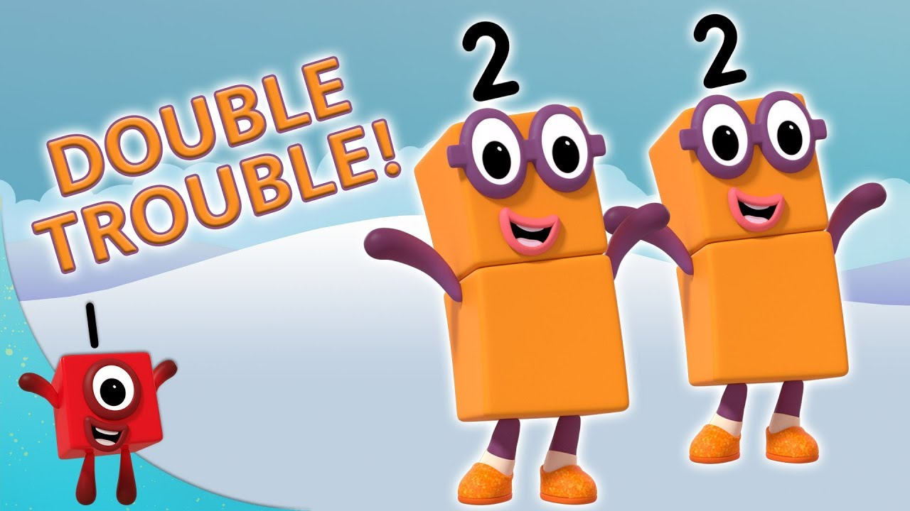 Numberblocks - Double Trouble | Learn to Count | Learning Blocks ...