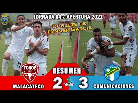 REMONTADA CREMA / Malacateco 2 vs Comunicaciones 3 /RESUMEN Y GOLES /Jornada 04 Apertura 2021
