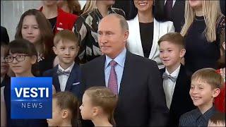 Putin Launches Demographic Program Aimed At Overcoming Slump in Native Birthrates