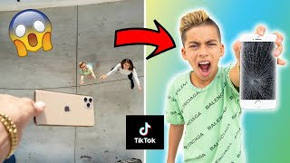 Recreating VIRAL TikToks Challenge! GONE WRONG... | The Royalty Family