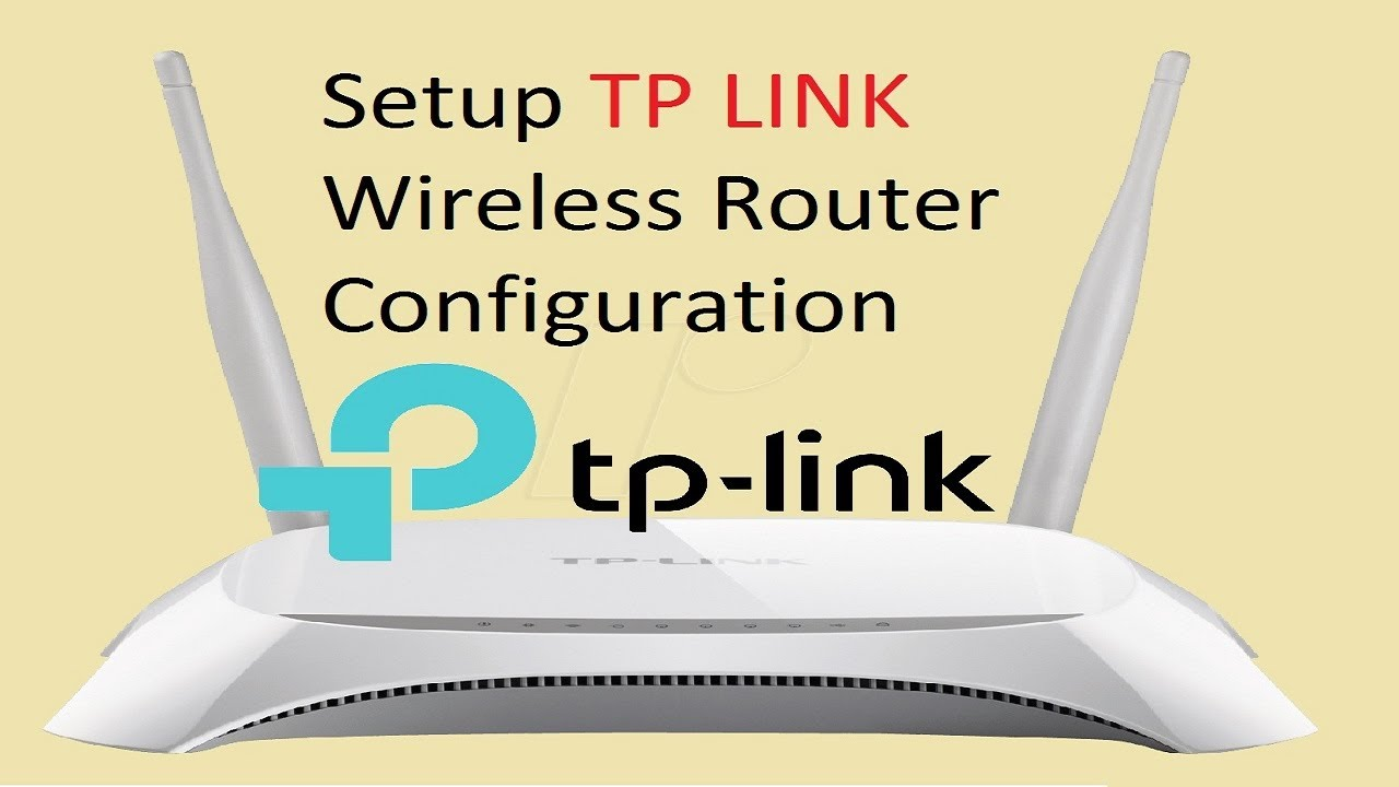 Tp Link Wireless Router Configuration Tutorial Tl Wr840n Tplink 300mbps Wr 840 Af Tech House