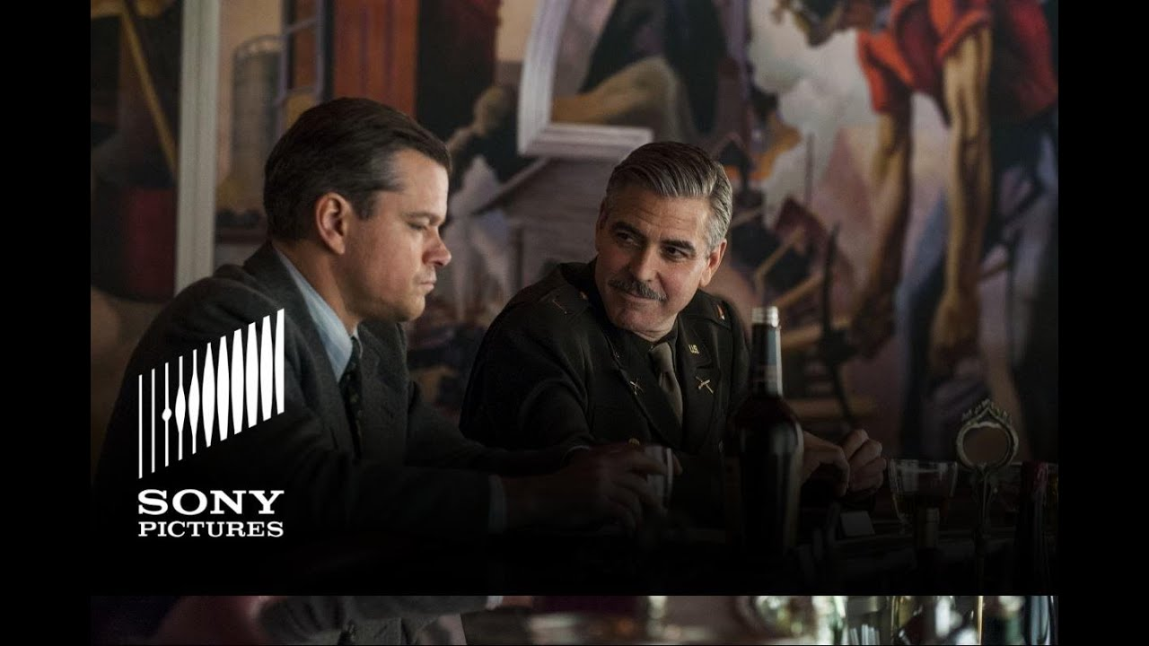 Download Monuments Men - Official Trailer #2 - In Theaters 2/7/14
