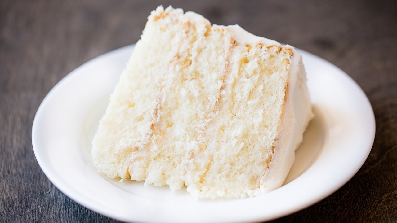 How To Make The Most Amazing White Cake