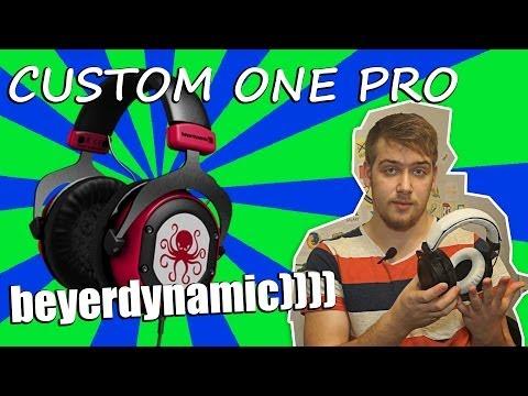 Наушники-Конструктор Custom One Pro By Beyerdynamic))))