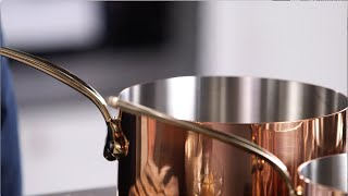 Mauviel Copper: Perfect for Making Caramel Apple French Toast