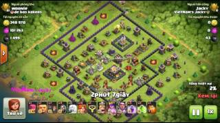 Combo Valkyrie Attack TH11 (131) [VietNam's Jacky] Clash Of Clans