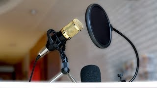 bM-800 Condenser Microphone - Full Review (Unboxing, Setup, Audio Tests)