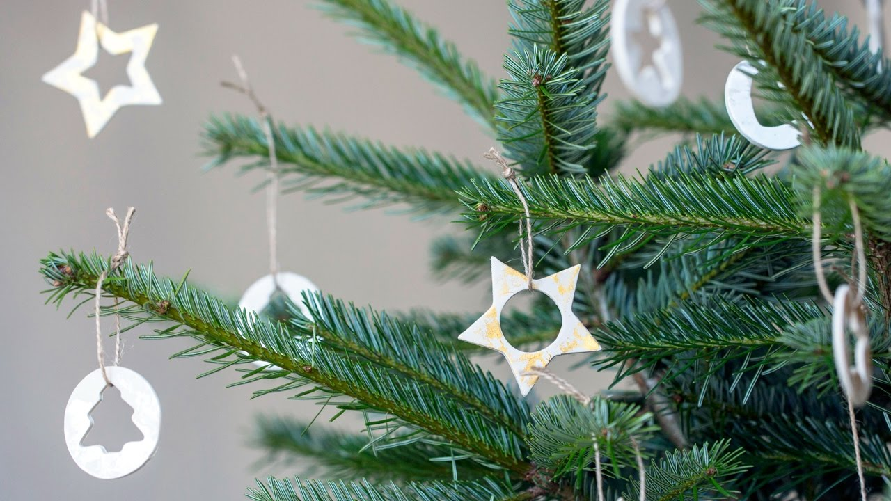 Diy Make Christmas Ornaments From Clay Sostrene Grene