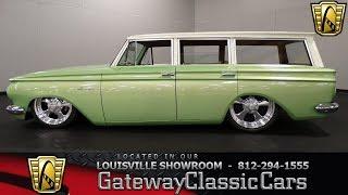 1962 amc rambler wagon louisville showroom stock 1320