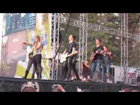 Done - The Band Perry Live @ Country Summer Festival Santa Rosa, CA 6-6-15