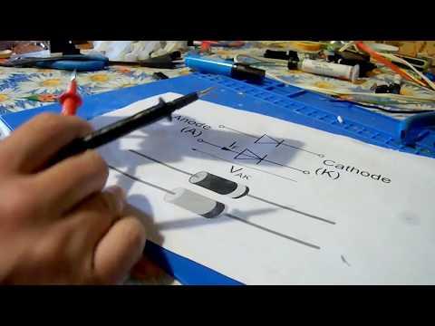 Как проверить диод мультиметром в режиме диодной прозвонки