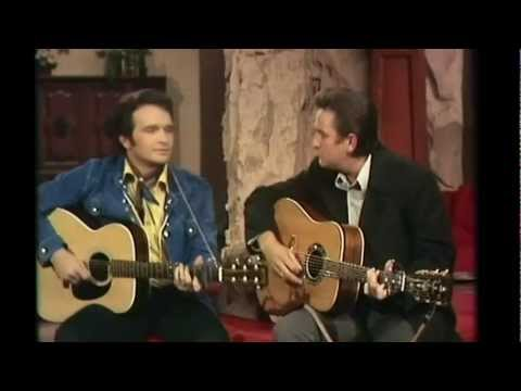 Merle Haggard & Johnny Cash - Sing Me Back Home ((The Johnny Cash TV Show 1969))