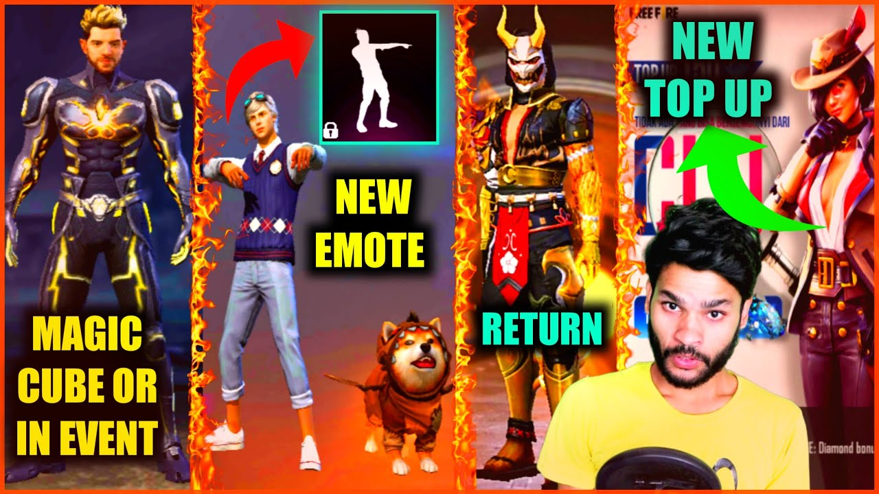 FREE DOGGY EMOTE IN FFC | ELECTRIC SHOCK | NEXT TOP UP EVENT | BLOOD MOON | FREE FIRE | SHIV GAMING!