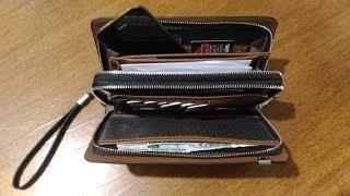 Барсетка-портмоне (распаковка - обзор)