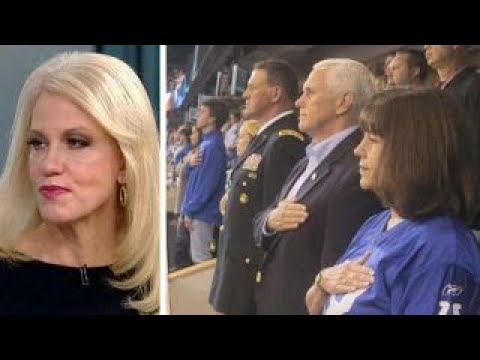 Kellyanne Conway on Pence leaving NFL game, Trump vs. Corker